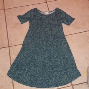 Girls sz 12 LuLaRoe dress, super cute